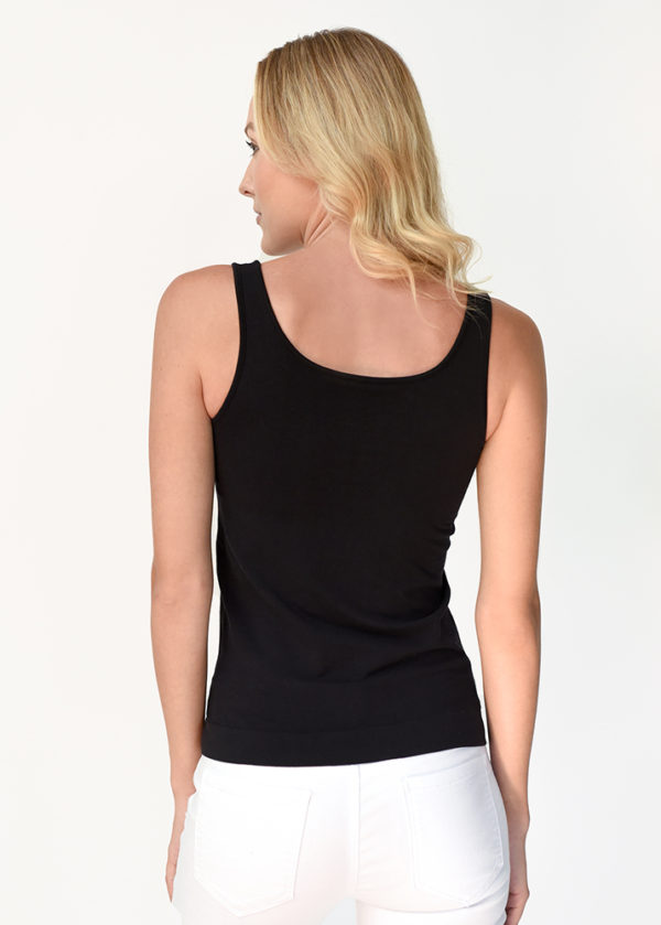 The Everyday Tank in Black Back View